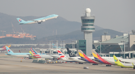 Airplanes at Incheon International Airport [NEWS1]
