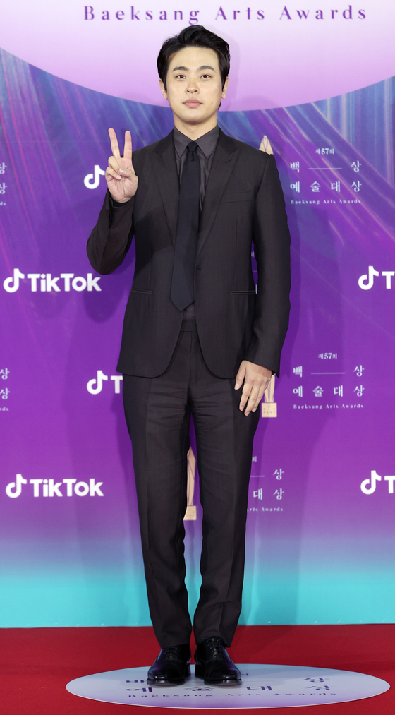 Actor Park Jung-min [ILGAN SPORTS]