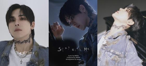 "Teaser images for singer Hoya's upcoming digital EP ""1AM″ [GLORIOUS ENTERTAINMENT]"