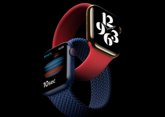 Apple's Apple Watch Series 6, which was released last year [APPLE]