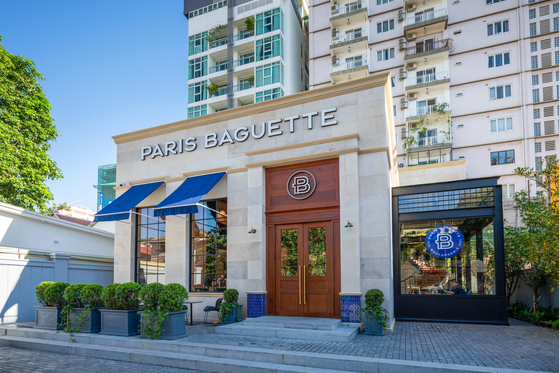 The first Paris Baguette in Cambodia is located in Boeung Keng Kang, Phnom Penh. [SPC GROUP]