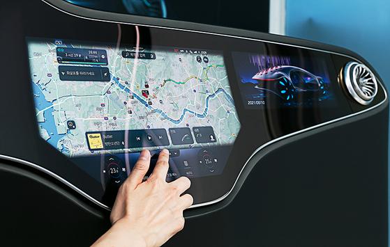 Mercedes-Benz User Experience (MBUX) Hyperscreen [MERCEDES-BENZ KOREA]