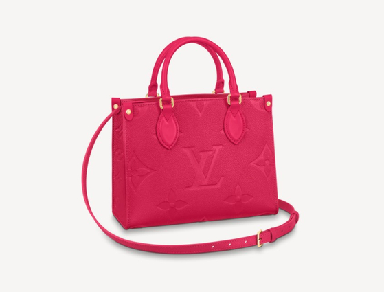 Louis Vuitton's Onthego PM. The bag used to be priced at 3.57 million won in Korea, but prices increased 4.7 percent to 3.7 million won. [LOUIS VUITTON]