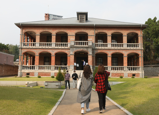 Jungmyeongjeon of Deoksu Palace in central Seoul in October 2020. [NEWS1]