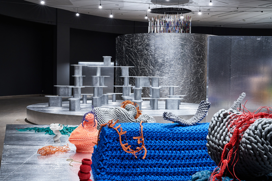 """Artist Seo Jeong-hwa's """"Structure for Use"""" (2021) [NATIONAL MUSEUM OF MODERN AND CONTEMPORARY ART, KOREA]"""