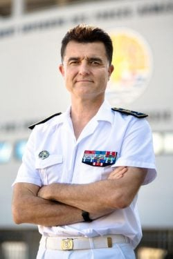 French Rear Admiral Jean-Mathieu Rey [FRENCH EMBASSY]