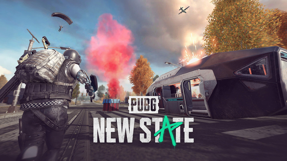 A poster of PUBG: New State, a new battle royale mobile game to be released by Krafton this year [KRAFTON]