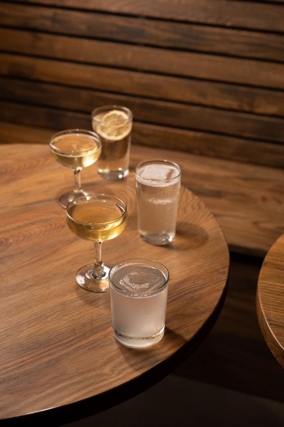 Cocktails available at Tokki Bar at Ryse Hotel [DIANE KANG]