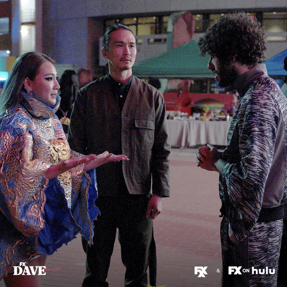Singer CL makes a surprise cameo appearance on the first episode of the second season of U.S. comedy series ″Dave.″ [FXX]