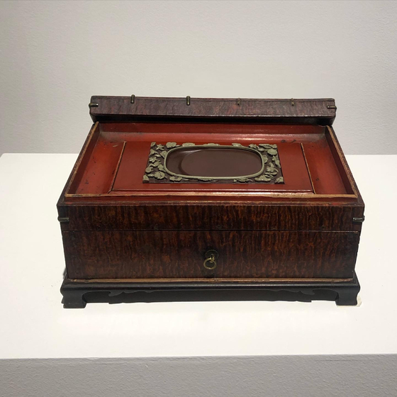 Inkstones were treasured in Joseon Dynasty that they were usually kept safely inside wooden chests. [YIM SEUNG-HYE]