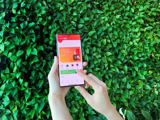 Lotte On app [YONHAP]
