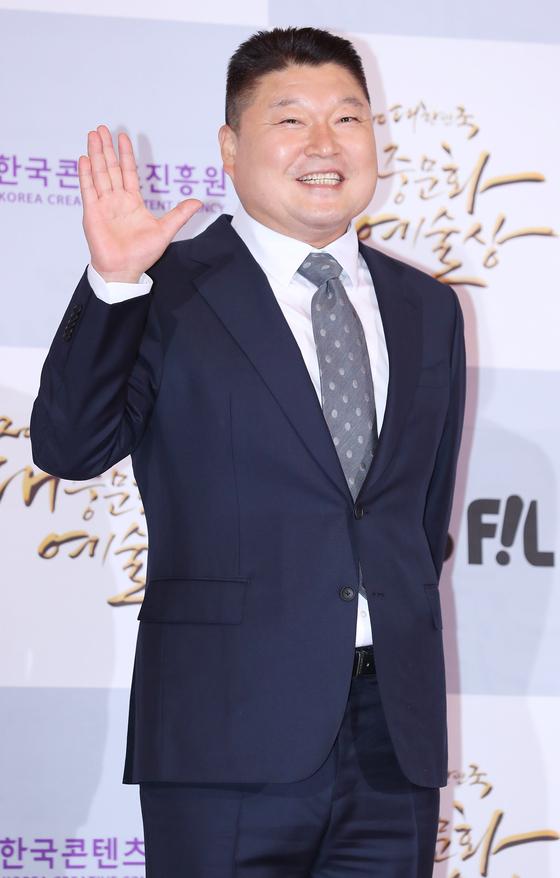 Comedian Kang Ho-dong [ILGAN SPORTS]