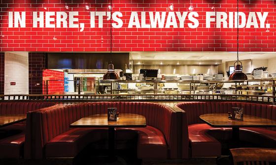 A TGI Friday's restaurant [LOTTE GRS]