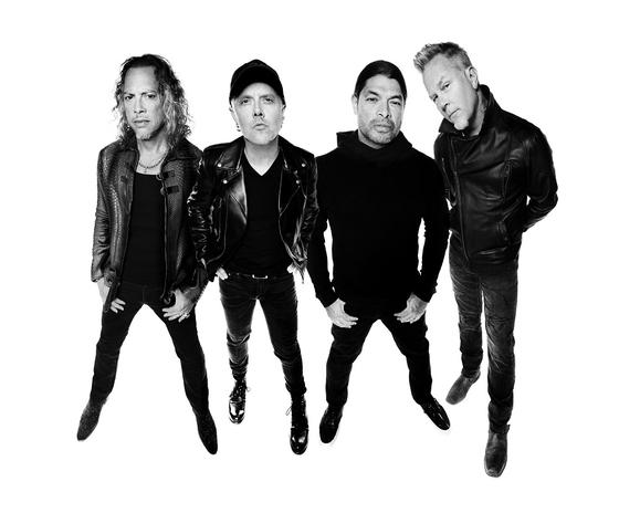 Heavy metal band Metallica [UNIVERSAL MUSIC]