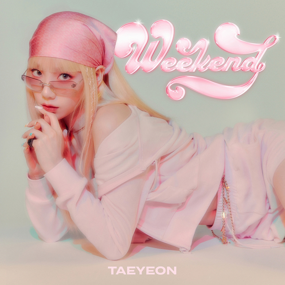Cover photo for Taeyeon's upcoming single ″Weekend″ [SM ENTERTAINMENT]