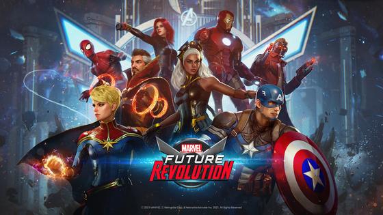 An image of Marvel Future Revolution [NETMARBLE]