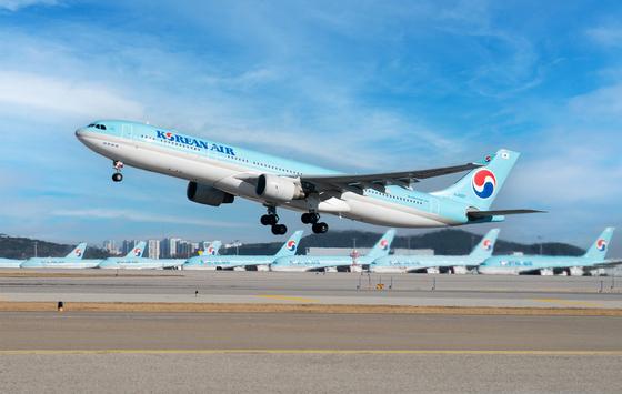 A Korean Air Lines carrier [KOREAN AIR LINES]