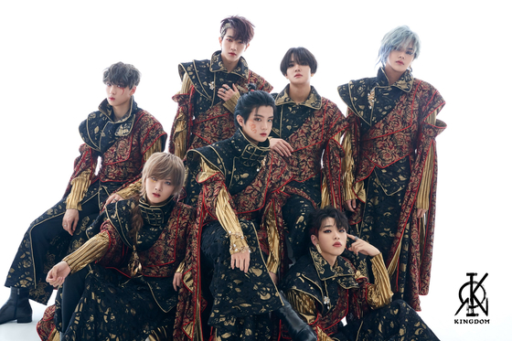 """The concept photo for boy band Kingdom's second EP """"History of Kingdom: Part II. Chiwoo"""" [GF ENTERTAINMENT]"""