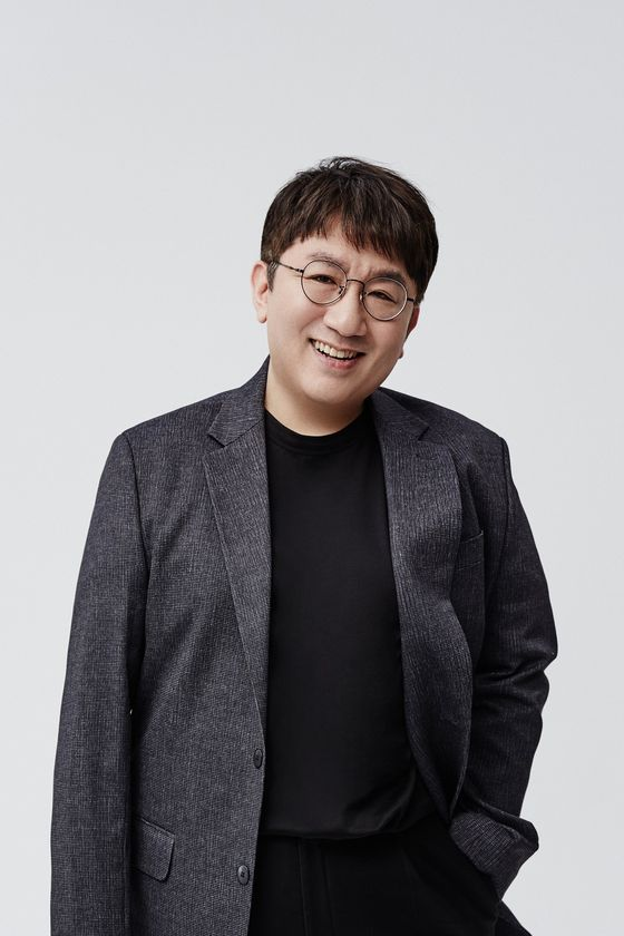 Bang Si-hyuk of entertainment firm HYBE [HYBE]