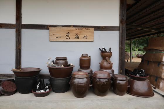 Ellyeop Pyunjoo rice winery in Andong, North Gyeongsang [LEE SUN-MIN]