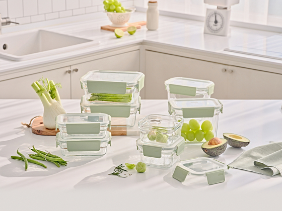 Glasslock's glass food containers [GSC SOLUTIONS]