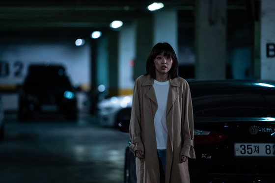 """Actor Jin Ki-joo plays her first lead role as a character named Gyeong-mi with hearing disabilities in the film """"Midnight."""" [TVING, CJ ENM]"""
