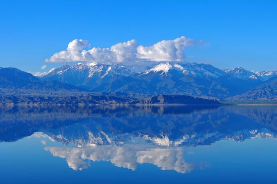 Issyk-Kul Lake in the Kyrgyz Republic. [VLADIMIR USHAKOV]