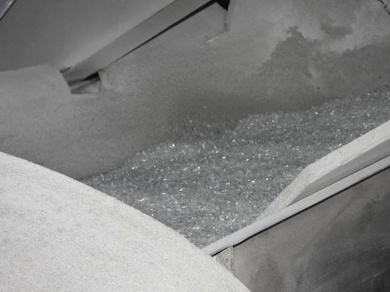 Plastic flakes. [KANG CHAN-SU]