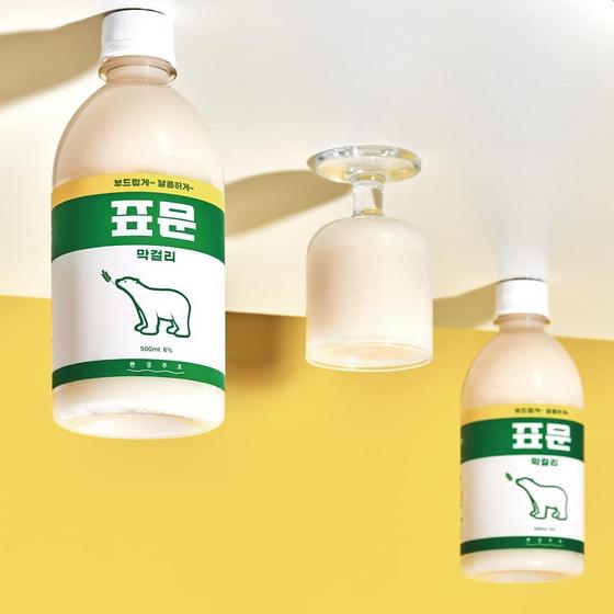 Pyomun Makgeolli, by Daehan Flour Mills and Hangang Brewery. [HANGANG BREWERY]
