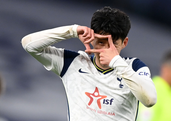 Son Heung-min [REUTERS/YONHAP]