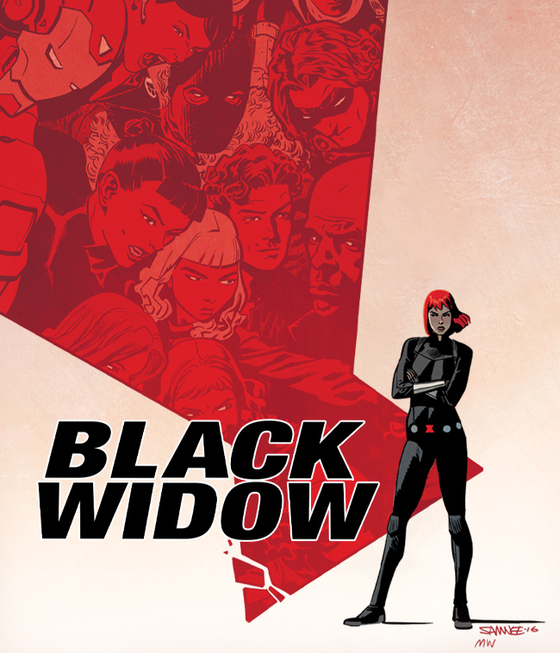 "A vertically scrollable, mobile-friendly version of Marvel's ""Black Widow"" was released on Naver Webtoon on July 6. [NAVER WEBTOON]"