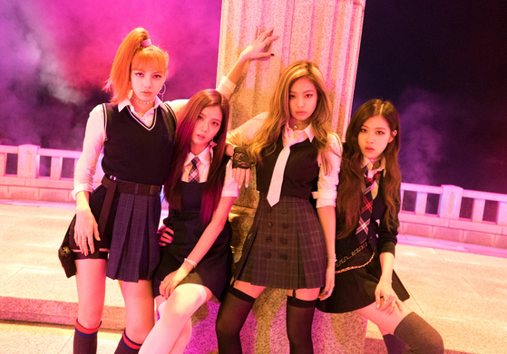 """A scene from the music video for girl group Blackpink's song """"As If It's Your Last"""" (2017) [YG ENTERTAINMENT]"""