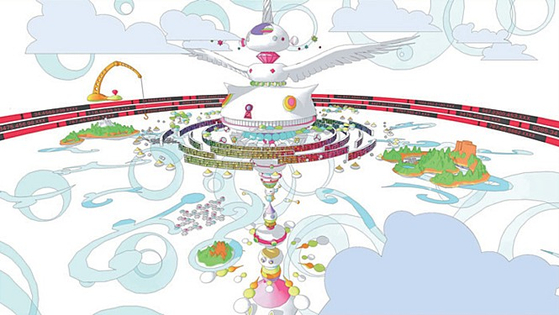 """Japanese animated film """"Summer Wars"""" (2009) shows the idea of the metaverse, which is called OZ in the film, being connected to the real world and causing chaos when the system is hacked by an artificial intelligence program. [CJ ENTERTAINMENT]"""