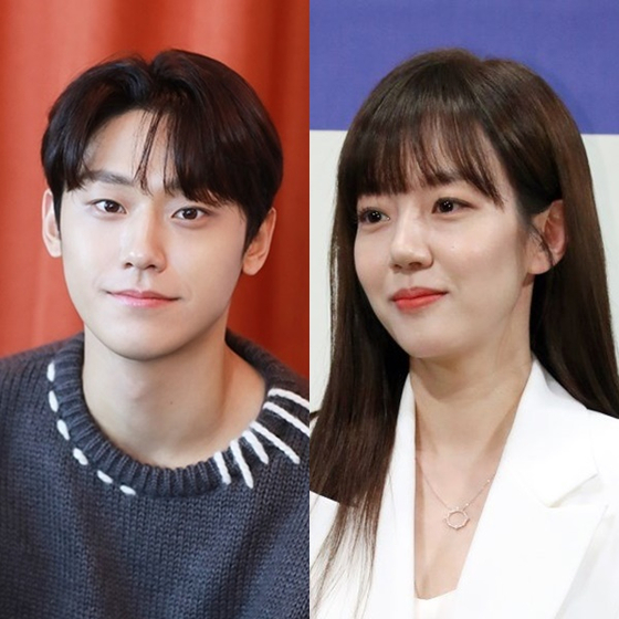 Actor Lee Do-hyun, left, and Im Soo-jung will play the leads in the upcoming tvN drama ″Melancholia,″ scheduled to air later this year. [ILGAN SPORTS]