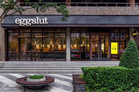 Eggslut's third Korean branch in Gangnam District, southern Seoul. [SPC SAMLIP]