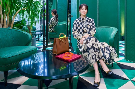 """Actree Lee Young-ae at the launch event for Gucci's """"Diana"""" bag [GUCCI]"""