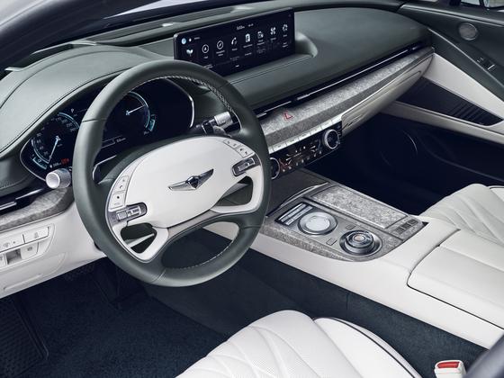 Interior of the Electrified G80 [HYUNDAI MOTOR]