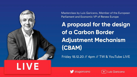 A webinar on the CBAM in Europe on Dec. 18, 2020 [YOUTUBE]