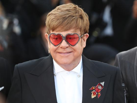 British singer Elton John [AP]