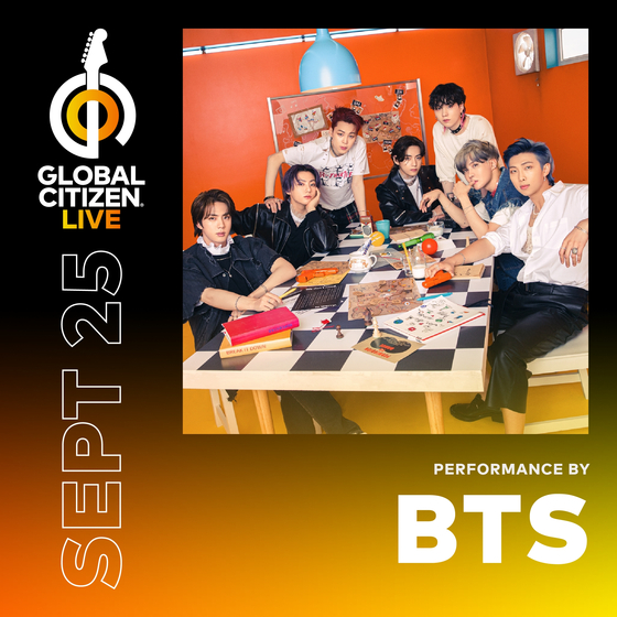 K-pop boy band BTS will be featuring in Global Citizen Live for the first time, scheduled to take place on Sept. 25. [BIG HIT MUSIC]