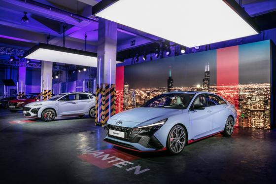 Hyundai Motor's high-performance Avante N [HYUNDAI MOTOR]