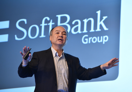 SoftBank CEO Masayoshi Son [BLOOMBERG]