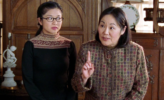 """In American television series """"Gilmore Girls,"""" the stereotype of the strict Asian parent unable to communicate with her daughter is portrayed through the relationship between the daughter Lane Kim and the mother Mrs. Kim. [WARNER BROS TELEVISION]"""