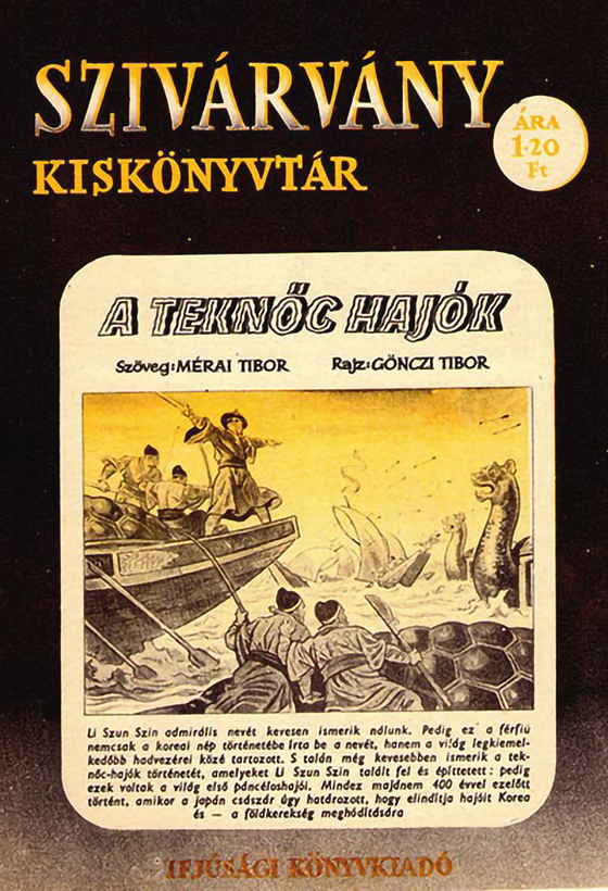 Hungarian comics about Admiral Yi published in 1956.