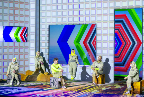 """""""Ultraworld"""" will be presented by German theater company Volksbuhne am Rosa-Luxemburg-Platz Berlin from Nov. 25 to 27 at the Haeoreum Theater. [JULIAN RODER]"""