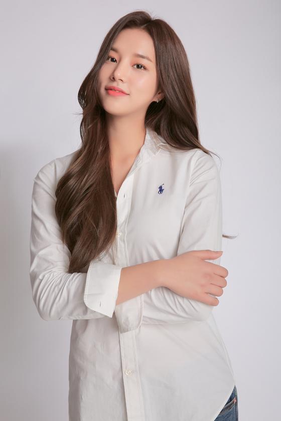 Solbin of girl group Laboum [ILGAN SPORTS]