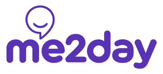 Logo of Me2day [SCREEN CAPTURE]