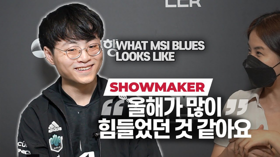 DWG KIA's Heo ″ShowMaker″ Su professed to feeling burnt out after returning from the Mid-Season Invitational. [KORIZON ESPORTS]