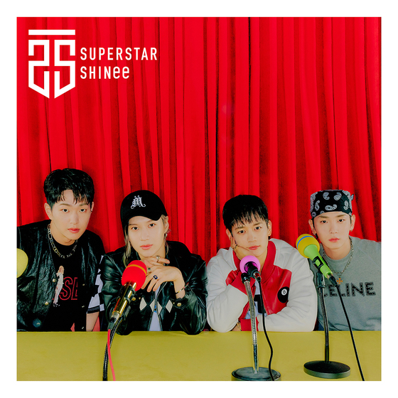 The album cover for SHINee's ″Superstar″ [SM ENTERTAINMENT]