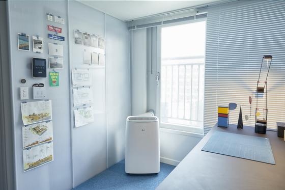 LG Electronics' portable air conditioner [LG ELECTRONICS]